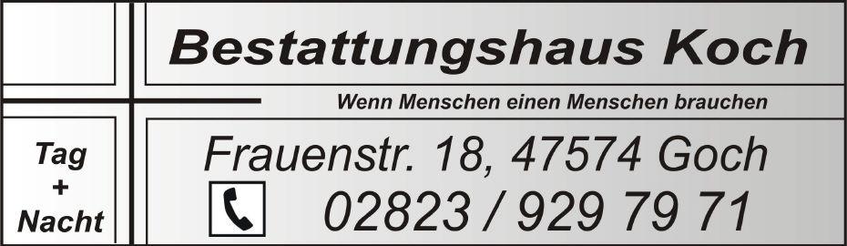 Bestattungshaus Koch logo ballonverstreuung